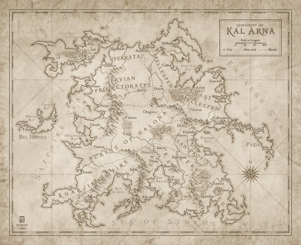 Continent of Kal Arna